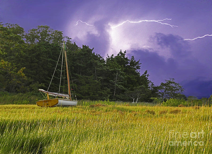 Storm Over Knotts Island Photograph