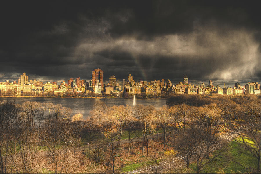 Storm Over The Park Photograph