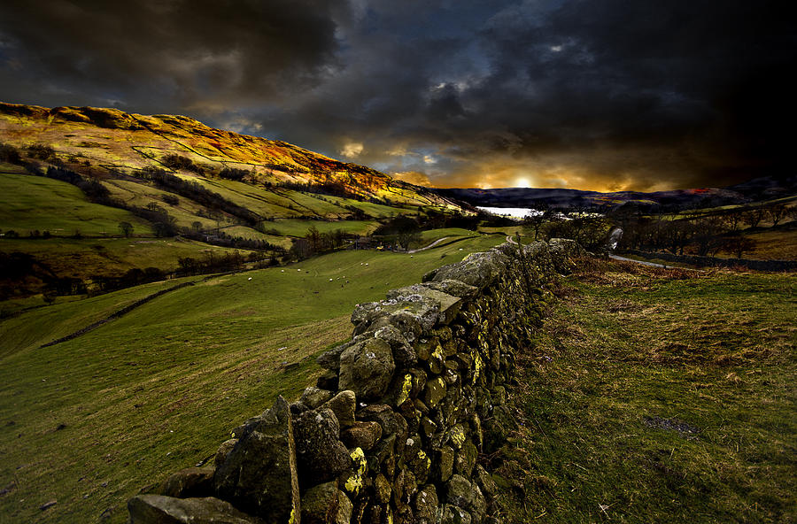 Storm Over Windermere Photograph