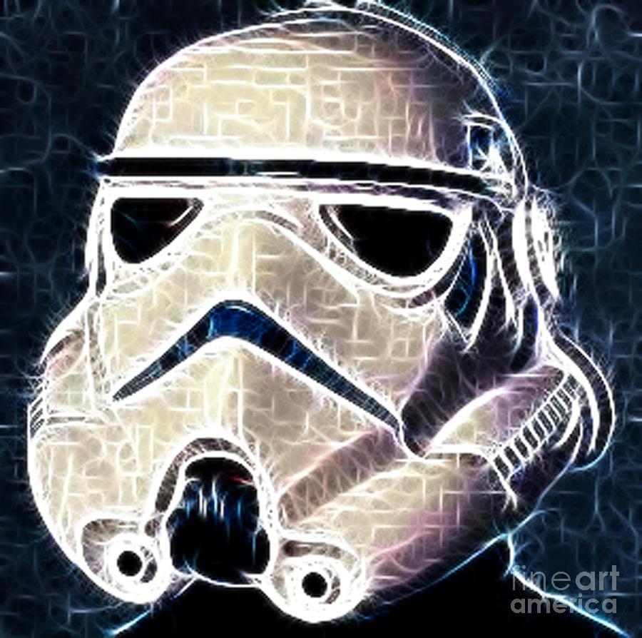 Storm Trooper Helmet Photograph