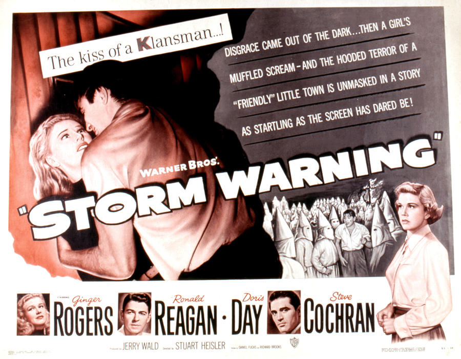 1950 Movies Photograph - Storm Warning, Ginger Rogers, Steve by Everett