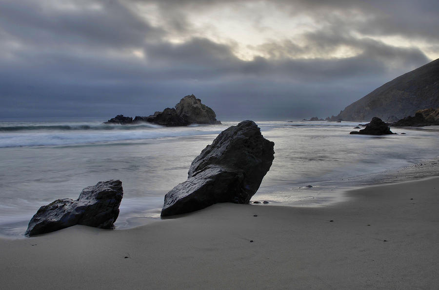 Stormy Afternoon - Big Sur Photograph