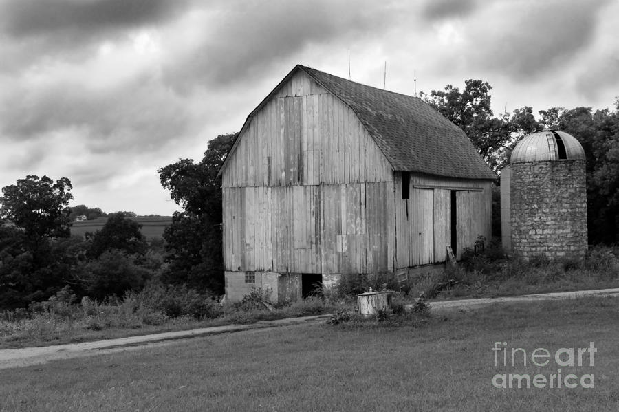 Stormy Barn Photograph