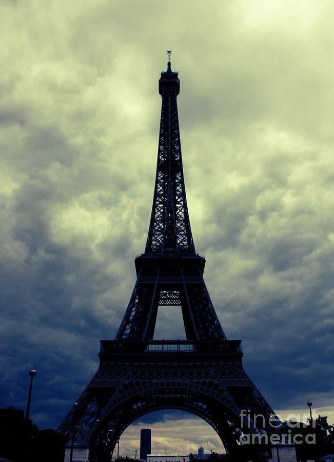 Paris Photograph - Stormy Day In Paris by Carol Groenen