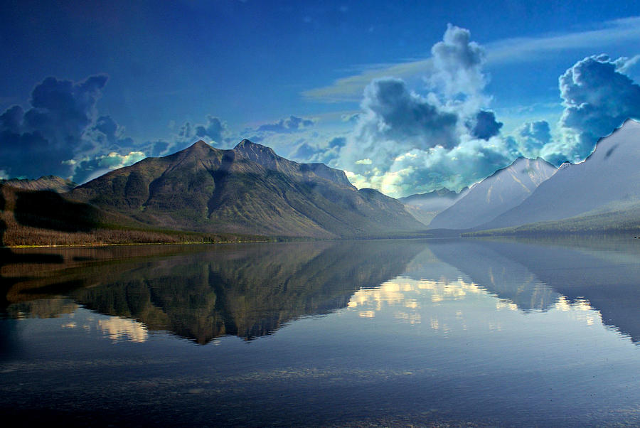 Lake Photograph - Stormy Lake by Marty Koch