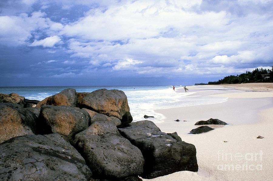 Banzai Beach Photograph - Stormy Sky Banzai Beach by Thomas R Fletcher