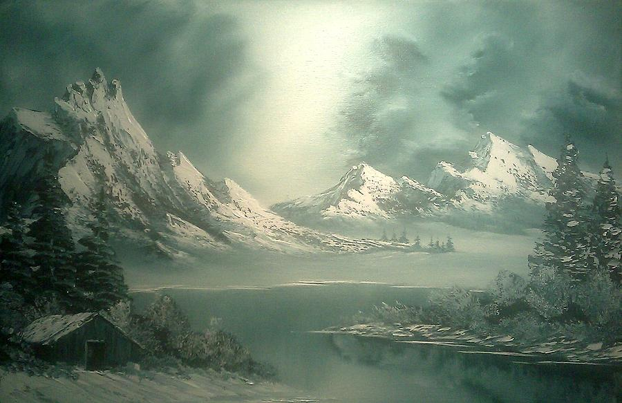 Stormy Winter Painting