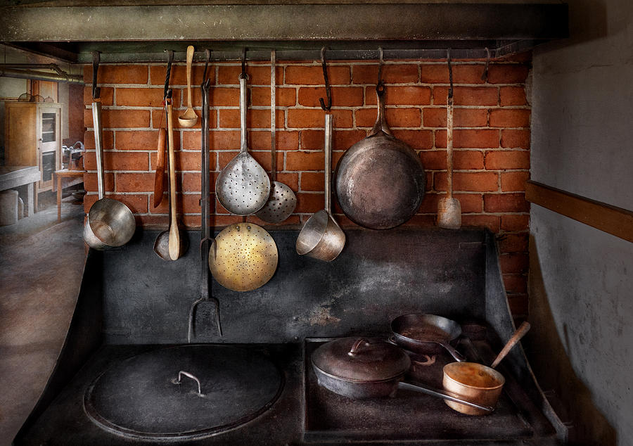Stove - The Gourmet Chef  Photograph  - Stove - The Gourmet Chef  Fine Art Print