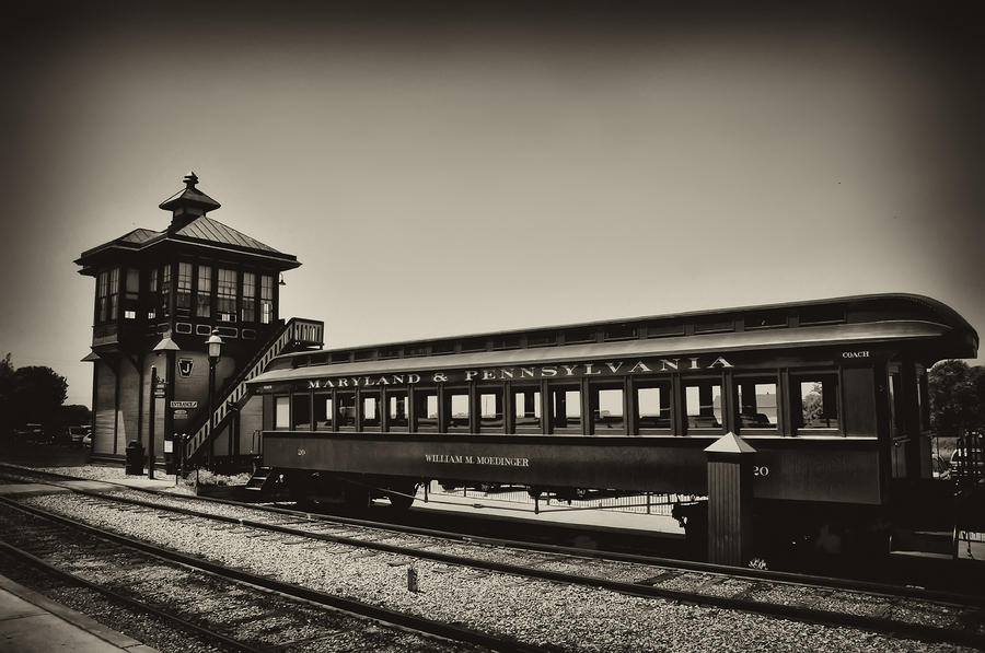 Strasburg Rail Road Photograph