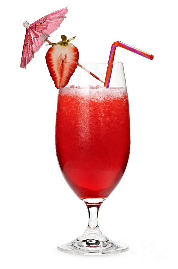 Strawberry Daiquiri Photograph