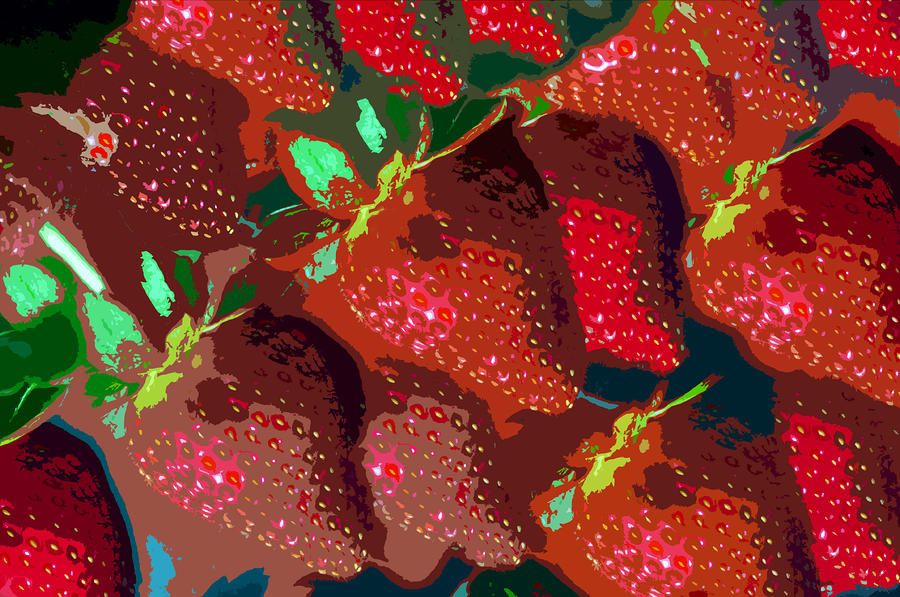 Strawberry Fields Forever Painting  - Strawberry Fields Forever Fine Art Print