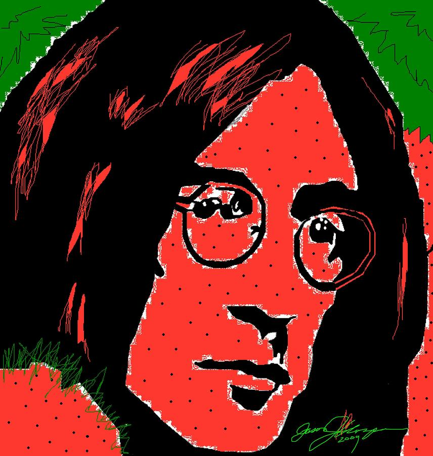 Strawberry Fields Forever Drawing