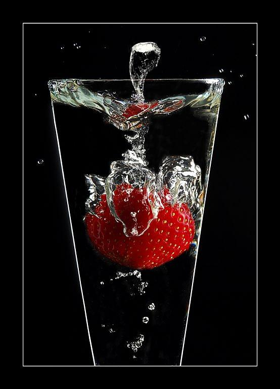 Strawberry Photograph - Strawberry by Petr Nikl
