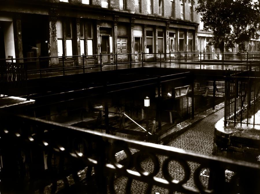 Street Below  Photograph