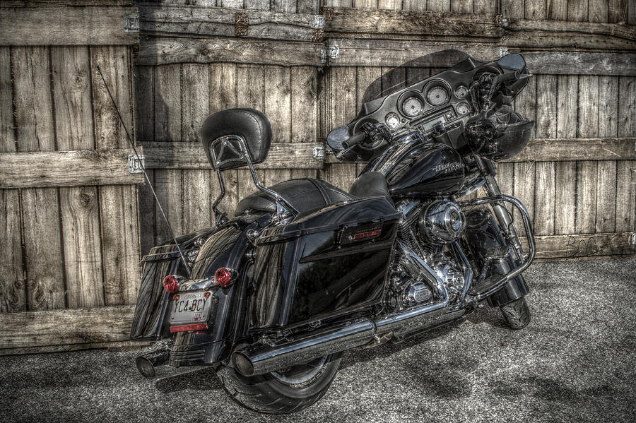 Street Glide Crated 2 Photograph  - Street Glide Crated 2 Fine Art Print