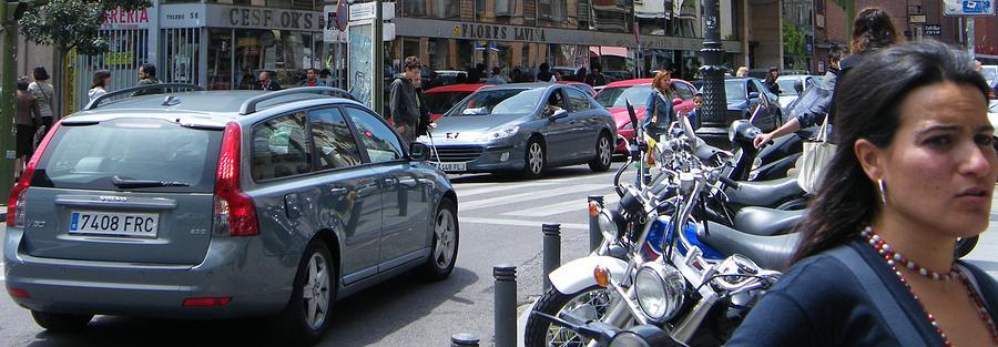 Street Life On Toledo Street - Madrid Photograph