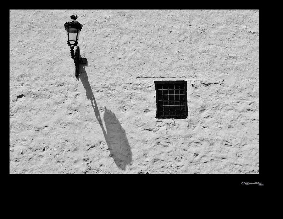Street Light Shadow Photograph  - Street Light Shadow Fine Art Print
