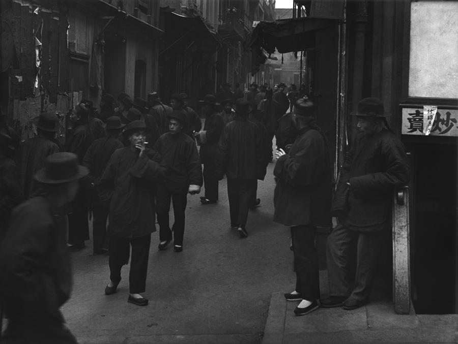 Street Of The Gamblers Ross Alley Photograph