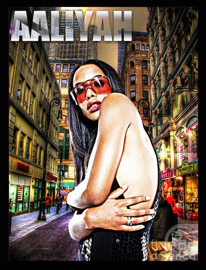 Street Phenomenon Aaliyah Digital Art