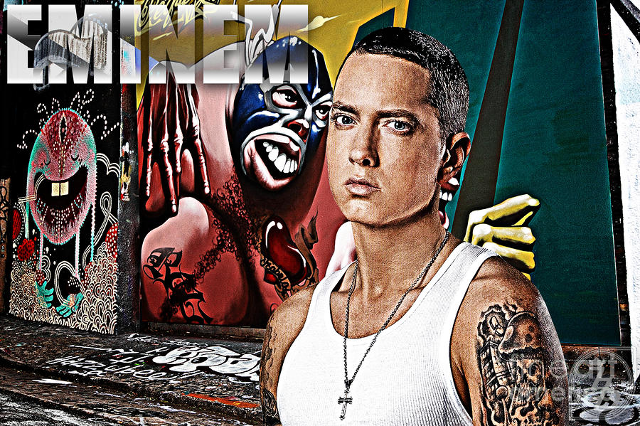 Street Phenomenon Eminem Digital Art  - Street Phenomenon Eminem Fine Art Print