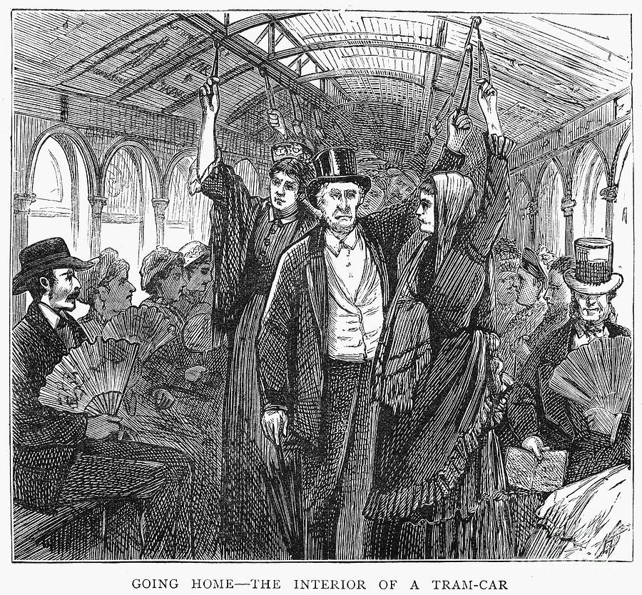 Streetcar, 1876 Photograph