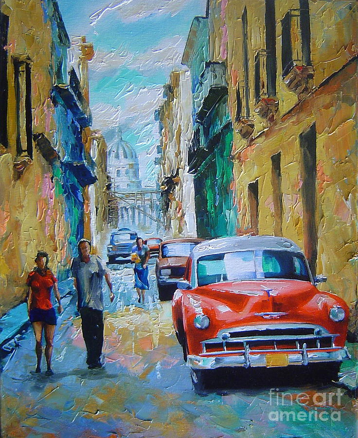Cuban Oil Paintings For Sale