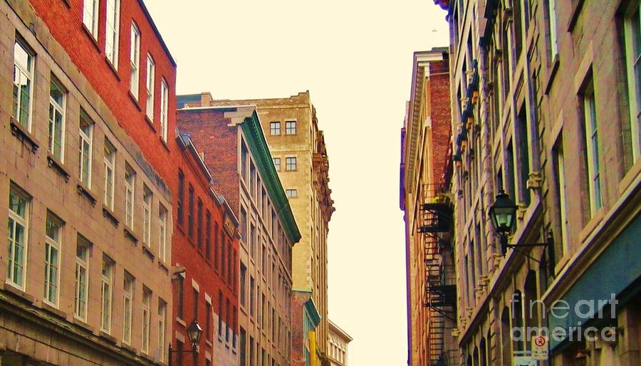 Streets Of Montreal Photograph