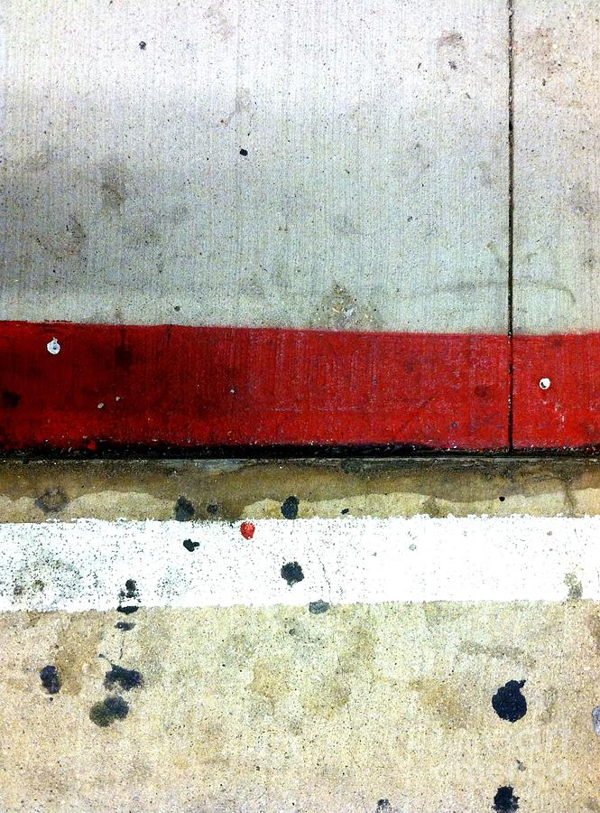 New York City Photograph - Streets Of New York Abstract Eight by Marlene Burns