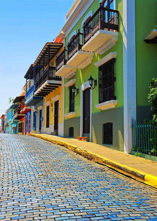 Streets Of Old San Juan Photograph  - Streets Of Old San Juan Fine Art Print
