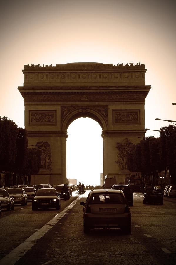 Streets Of Paris Photograph