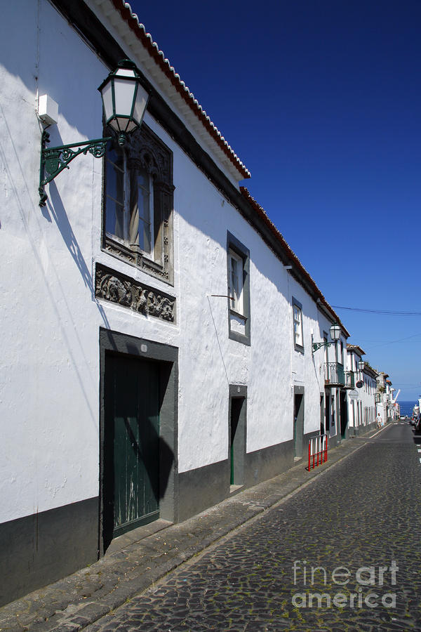 Streets Of Ribeira Grande Photograph