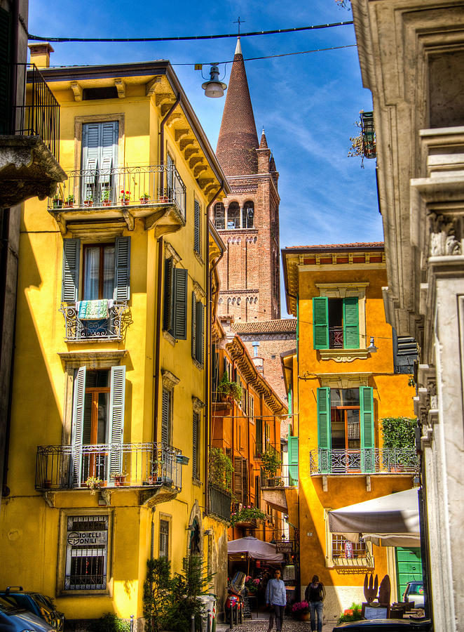 Streets Of Verona Photograph  - Streets Of Verona Fine Art Print