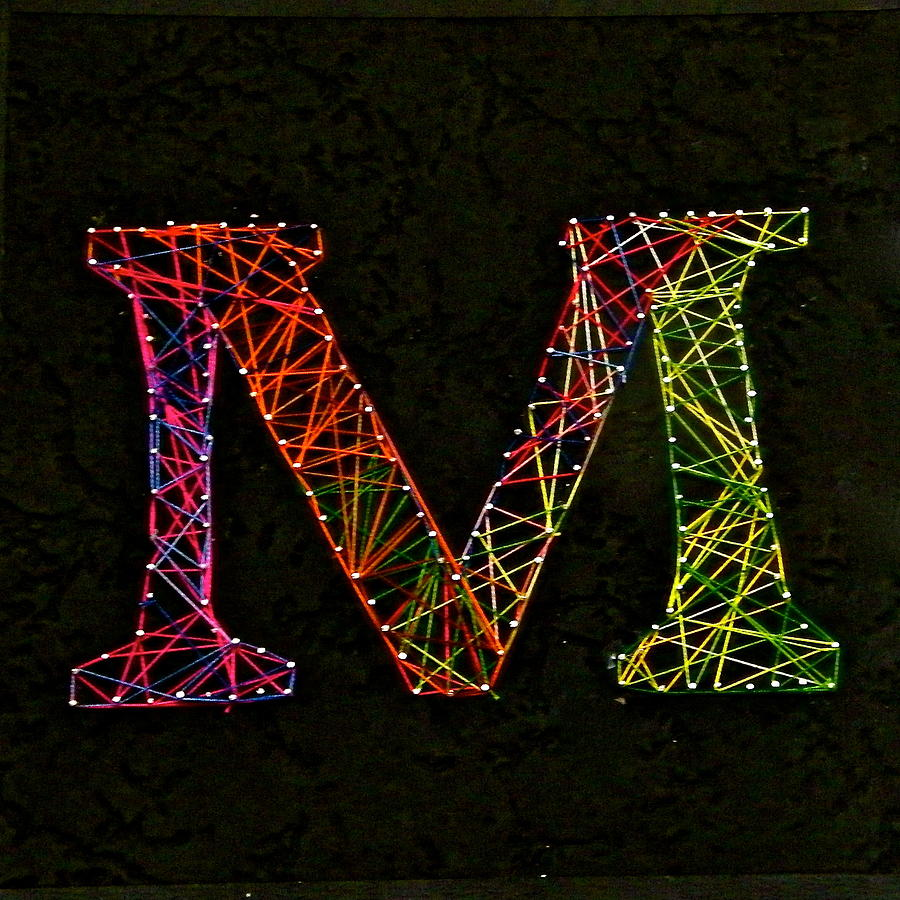 String Art is a mixed media by Maya M which was uploaded on October ...