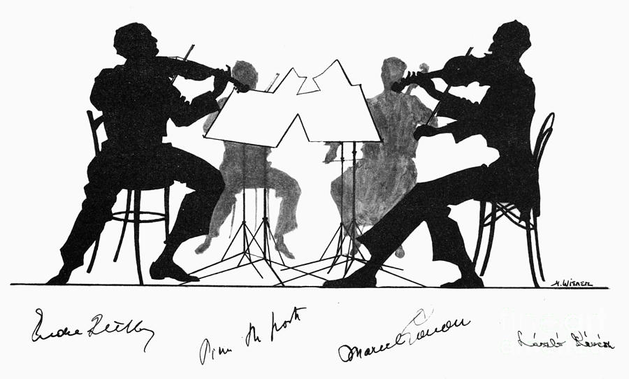 String Quartet, C1935 Photograph