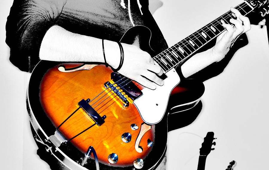 Strummin Dan Photograph  - Strummin Dan Fine Art Print