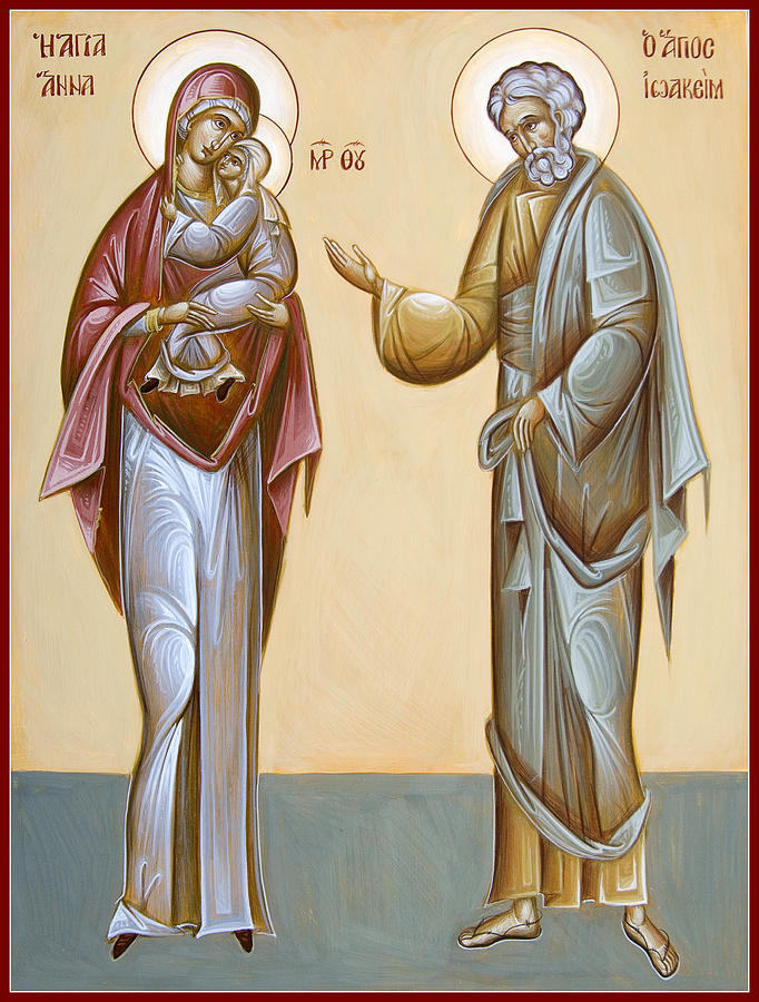 Sts Joachim And Anna Painting