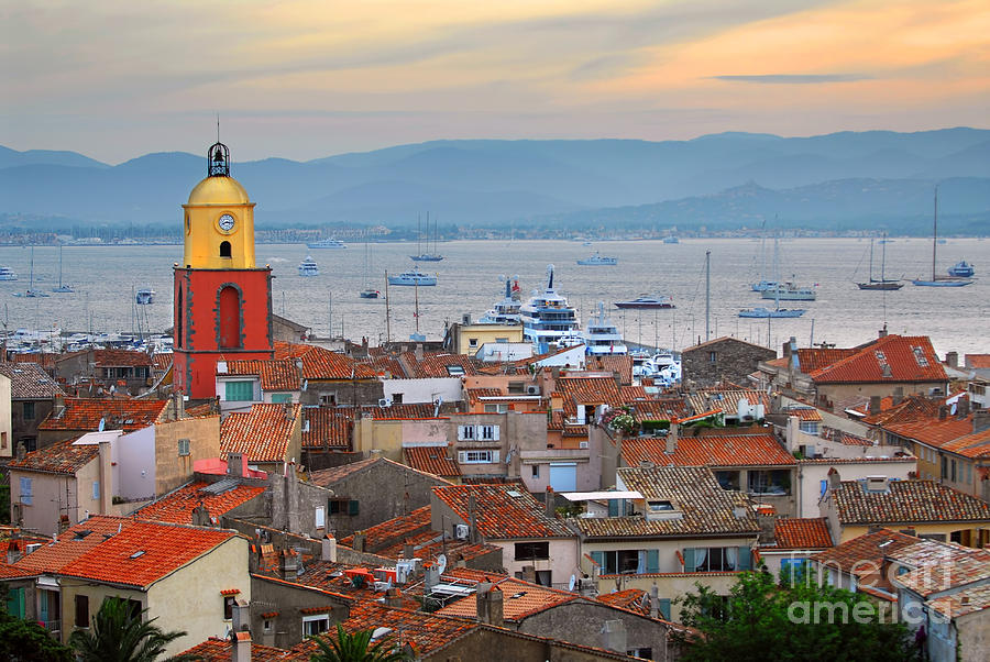 St.tropez At Sunset Photograph