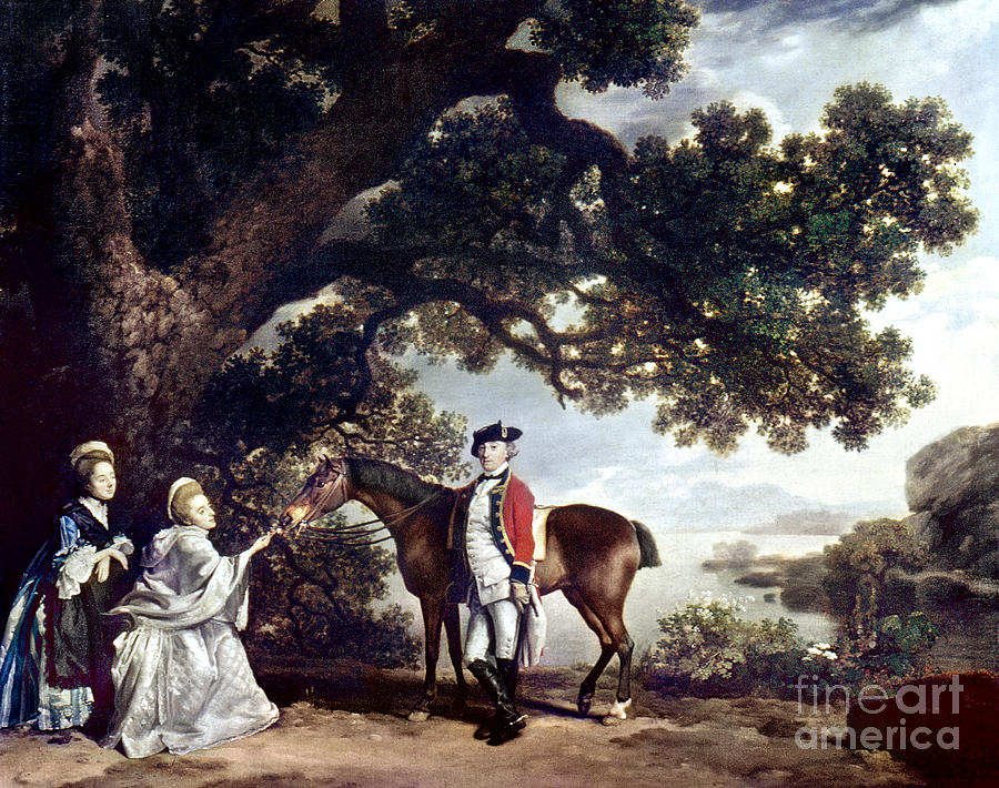 Stubbs Pocklington 1769 Painting  - Stubbs Pocklington 1769 Fine Art Print