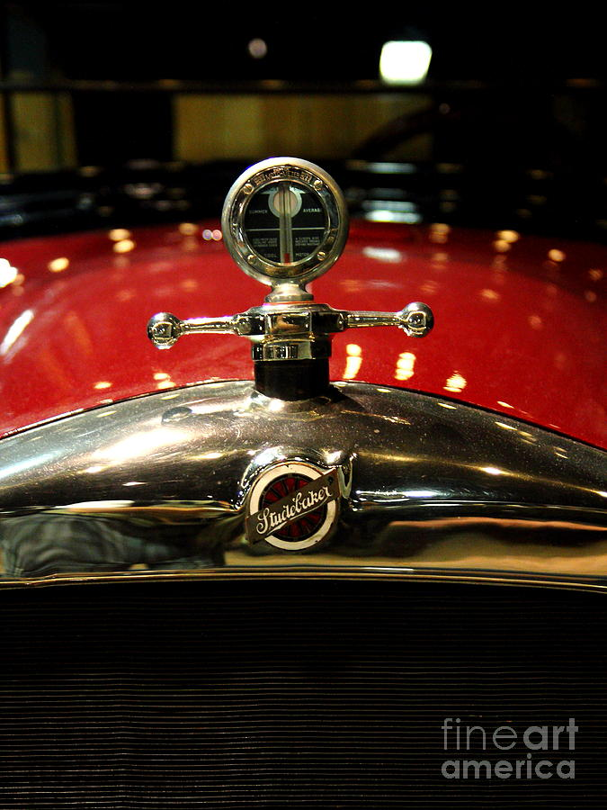 Studebaker Hood Ornament Photograph