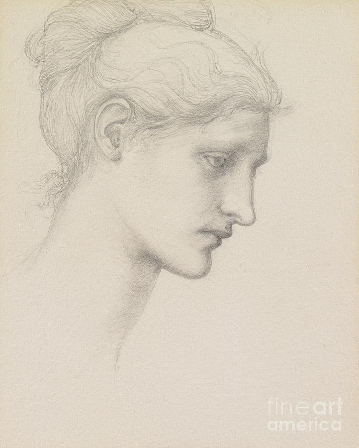 Study For Laus Veneria Drawing