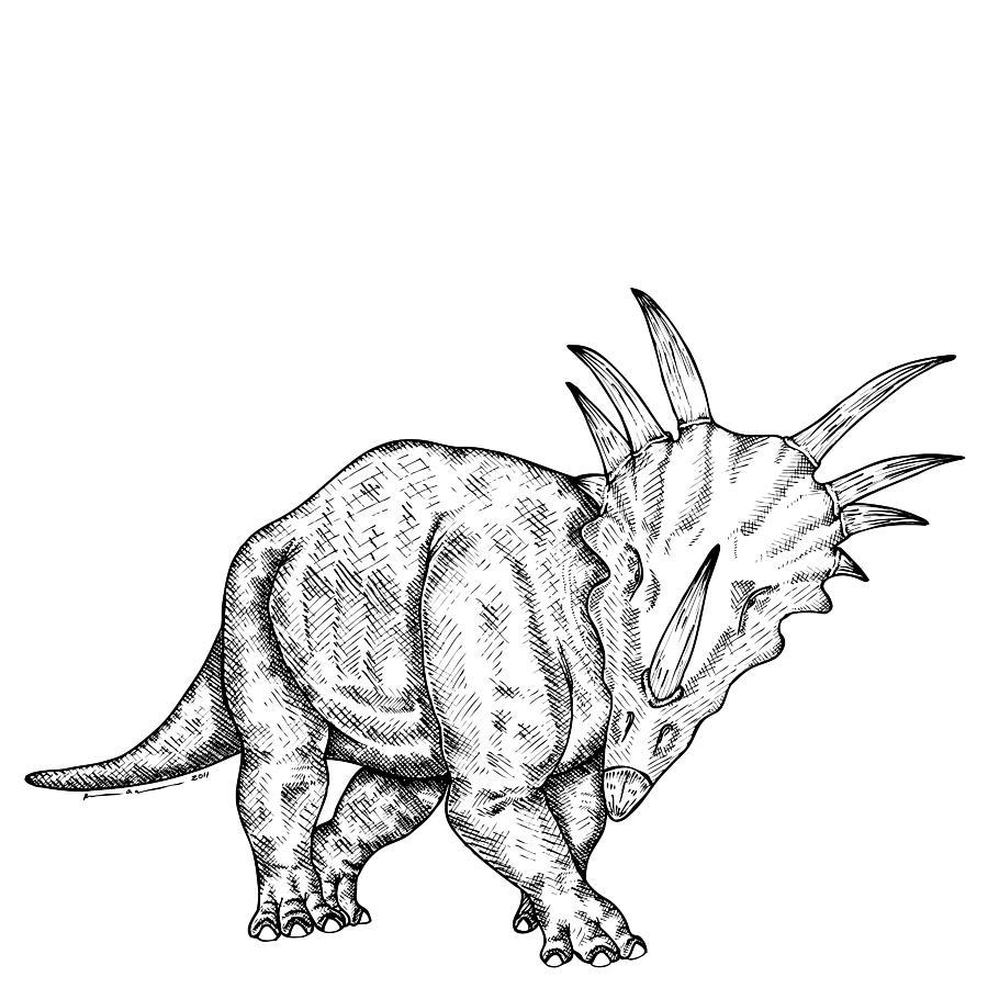 Styracosaurus Coloring Pages