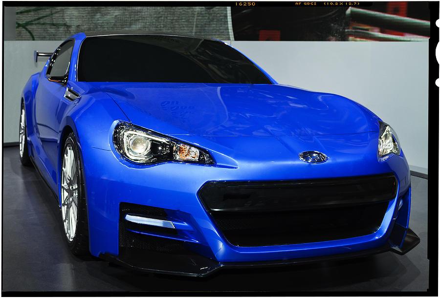 Subaru Brz Photograph