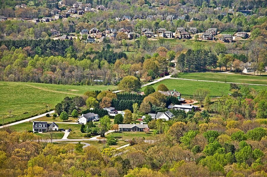 Suburban Landscape Photograph