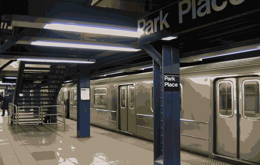 Nyc Subway Photograph - Subway Color 16 by Scott Kelley
