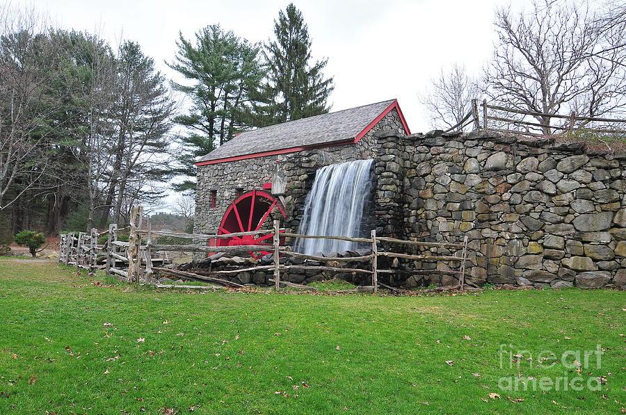 Sudbury Grist Mill Photograph