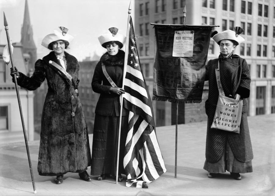 Suffragettes, C1910 Photograph