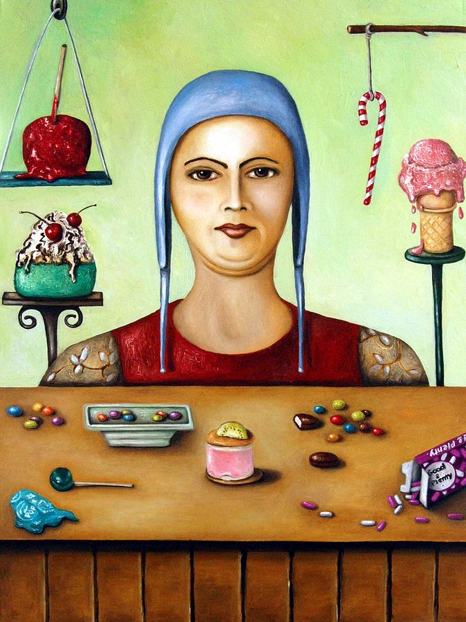 Sugar Addict Painting  - Sugar Addict Fine Art Print