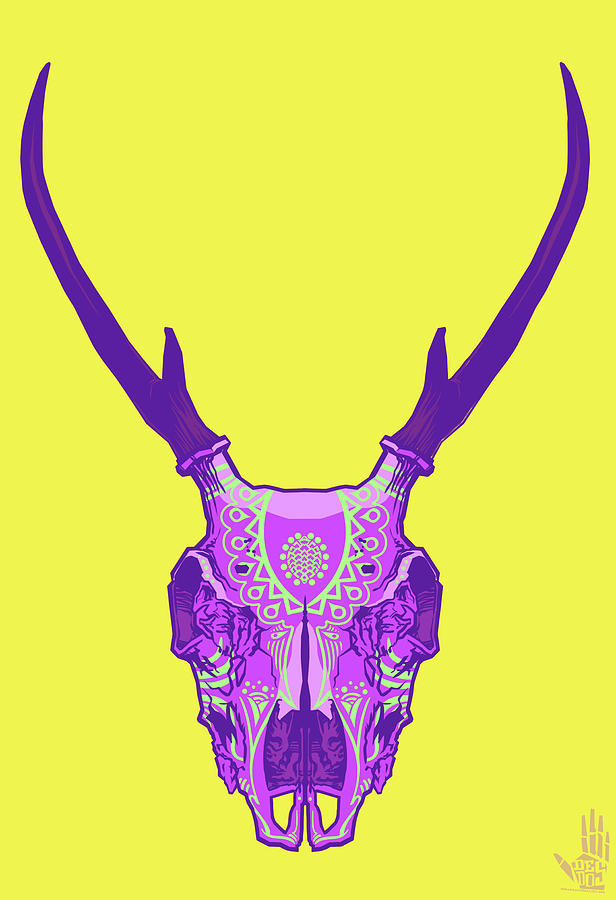 Sugar Deer Digital Art  - Sugar Deer Fine Art Print