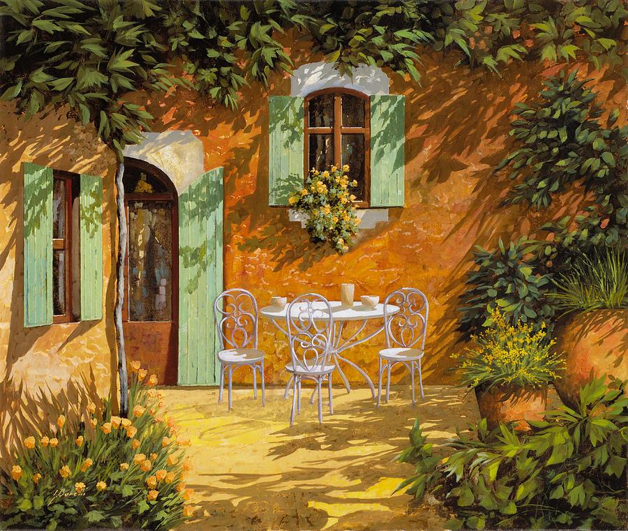 Sul Patio Painting