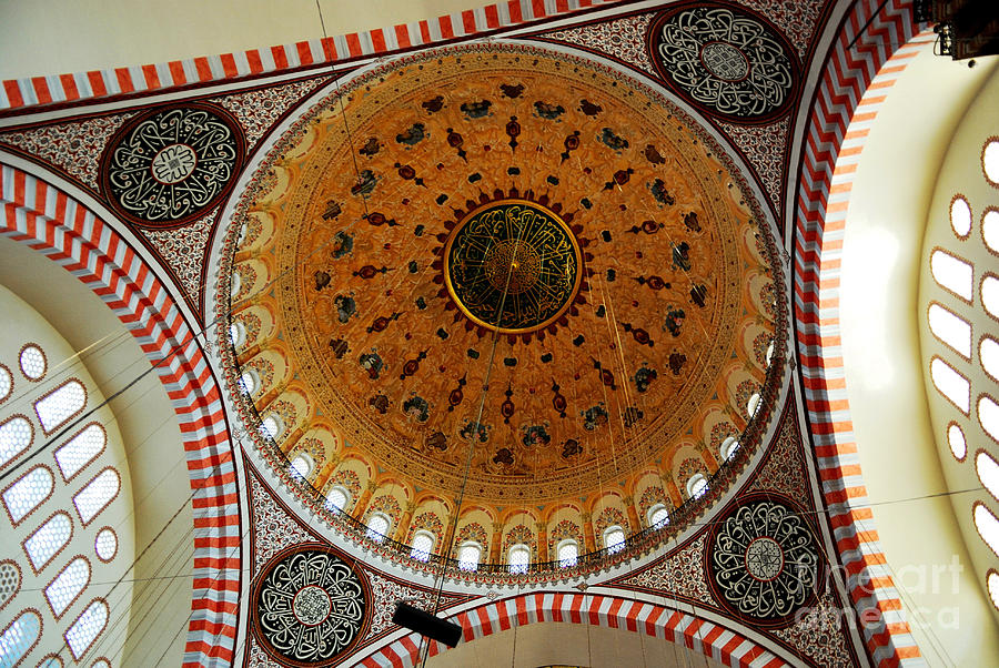 Sulemaniye Mosque Dome Photograph